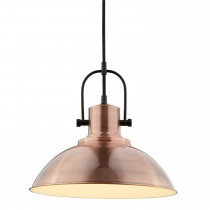 Lighting Collection Ceiling Pendant Light, Copper