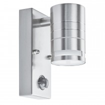 Outdoor 1 Light Wall Bracket, Stainless Steel