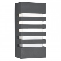 Outdoor Grilled Wall Bracket, Grey