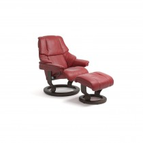 Stressless Reno Large Chair & Stool