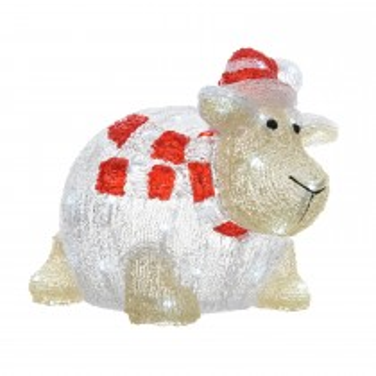 Kaemingk Led Acrylic Sheep, Cool White