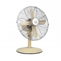 Retro Desk Fan Cream