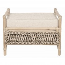Casa Ivy Footstool, Egypt Cream