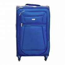 "Aerolite Canterbury 26"" Medium 4 Wheel Suitcase, Midnight Blue"