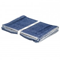 Set 4 Placemats 33x48cm, Denim