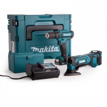Makita CLX203AJX 2 Piece Combo Kit