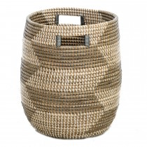 Casa Seagrass Basket Small, Brown
