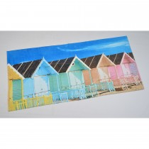 Beach Hut Beach Towel