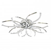 Casa Hawes 8 Ceiling Light, Chrome