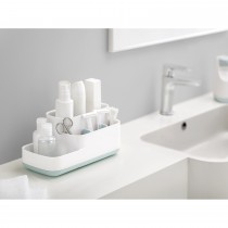 Joseph Joseph Bathroom Caddy, White/blue