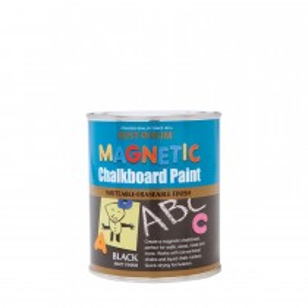 Rustoleum 750ml Magntic Chalkboard Paint, Black