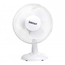 "Igenix 9"" Desk Fan, White"