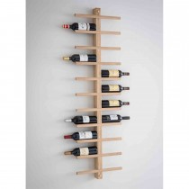 Garden Trading Woodstock Wine Rack, Raw Oak