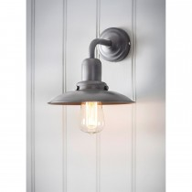 Garden Trading Hobury Wall Light, Charcoal