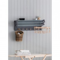 Garden Trading Extending Clothes Dryer, Charcoal