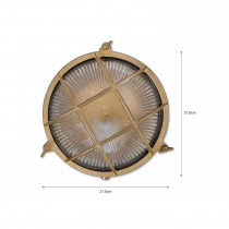 Garden Trading Wardour Bathroom Light, Satin Nickel