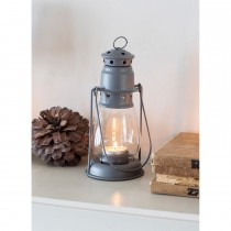 Garden Trading Small Miners Lantern, Charcoal