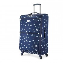 Radley Paper Trail Largel 4 Wheel Trolley, Summer Fig