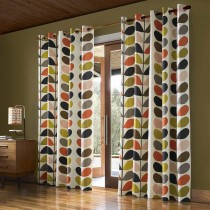 Orla Kiely Multi Stem Curtains, Multi