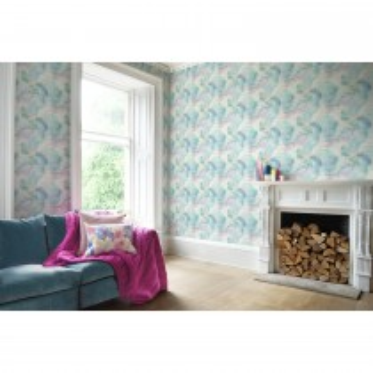 Bluebellgray Impressionist Wallpaper