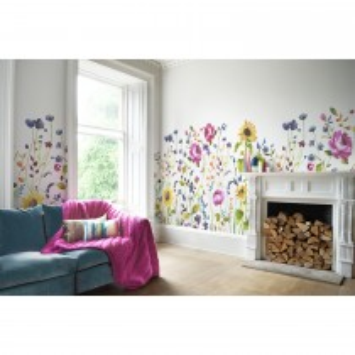 Bluebellgray Anya Wallpaper