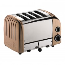Dualit 4 Slot Toaster, Copper