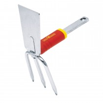 Wolf Double Hoe 8cm, Red/yellow