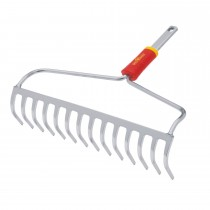 Wolf Bow Rake, Red/yellow