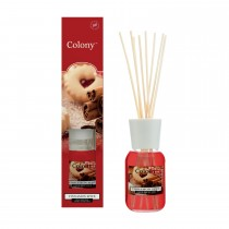 Wax Lyrical Reed Diffuser, Cinnamon Spice, Red