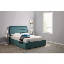 Tempur Linear King Ottoman King, Sundance Light Blue