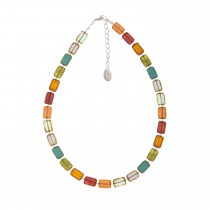 Carrie Elspeth Picasso Rainbow Necklace, Multi