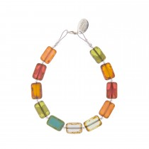 Carrie Elspeth Picasso Rainbow Bracelet, Multi