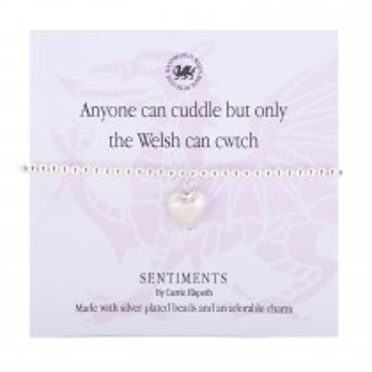 Carrie Elspeth Cwtch Bracelet, Silver