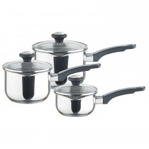 Prestige 3pce Stainless Steel Set, Stainless Steel