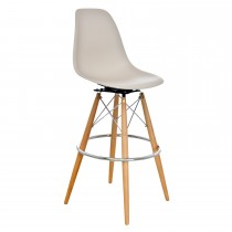 Casa Grasmere Bar Stool - Lt Brown Stool, Light Brown