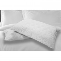 Casa Standard Pillow Protector Pair 50x75, White