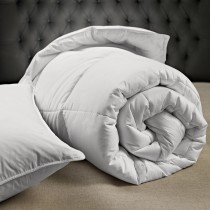 Casa Double All Season Microfibre Duvet, White