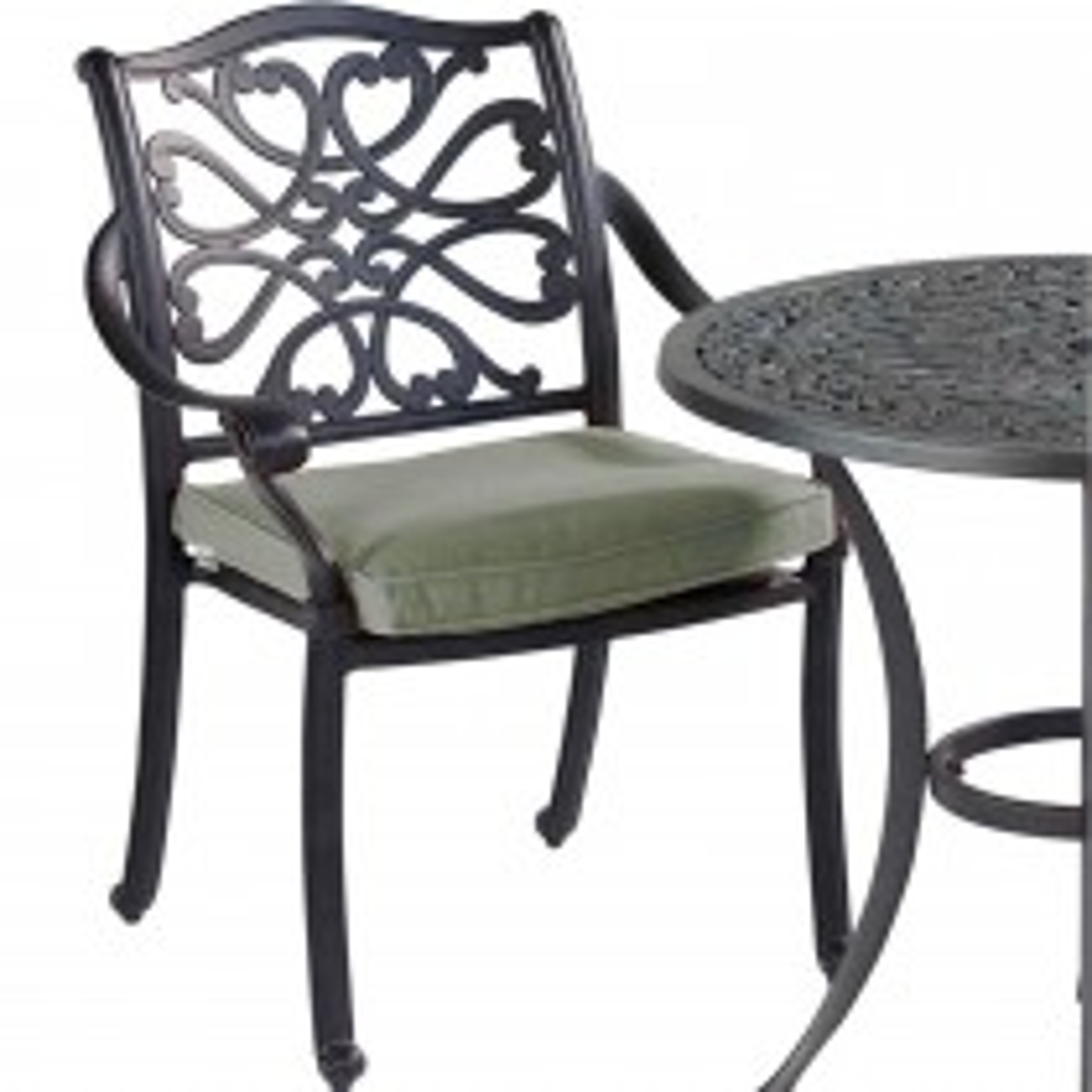 Hartman Spare Capri Dining Chair, Bronze/ Wheatgrass