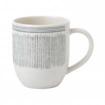 ED by Ellen DeGeneres Mug 400ml Grey Lines, Grey