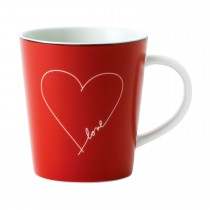 ED by Ellen DeGeneres Mug Valentine Red 475ml, Multi
