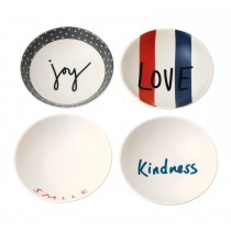 ED by Ellen DeGeneres Bowl 14cm Set 4 Joy, Multi