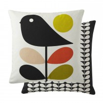 Feather Filled Cushion, Duck Egg