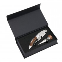 Le Creuset Waiters Corkscrew Giftset, Wood