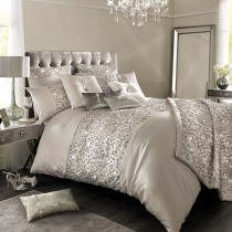 Kylie Minogue Helene Double Quilt Cover, Nude