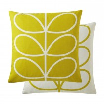 Orla Kiely Linear Stem Sunflower Cushion 45x45, Sunflower