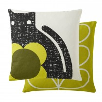 Orla Kiely Poppy Cat Apple Cushion 45x45, Apple