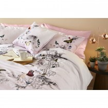Ted Baker Enchanted Dream Pink Double Duvet Cover