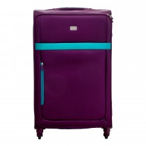 "Casa Bright Xtra Lite 28"" Case, Purple And Teal"