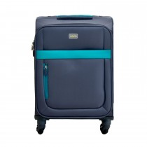 """Casa Bright Xtra Lite 20"""" Case, Grey And Teal"""