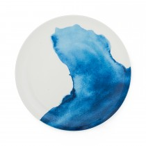 Bliss Dinner Plate  St George's Cove, White/ Blue